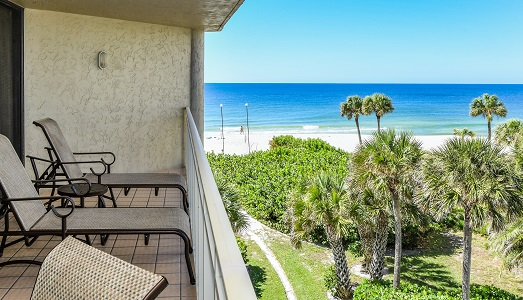 Veranda Beach of Longboat Key, resort unit 'A Glimpse od the Gulf